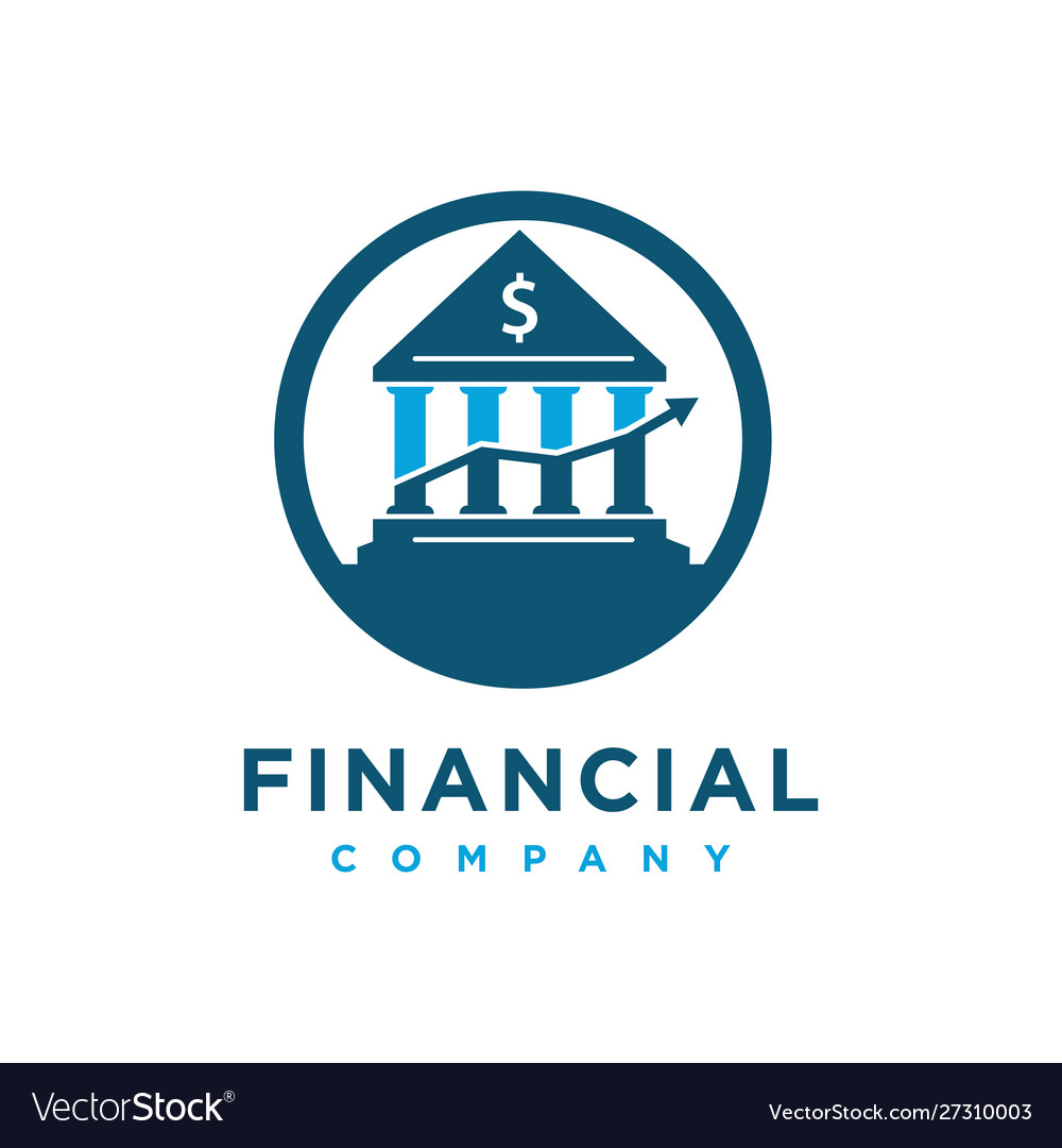 Home financial logo design template