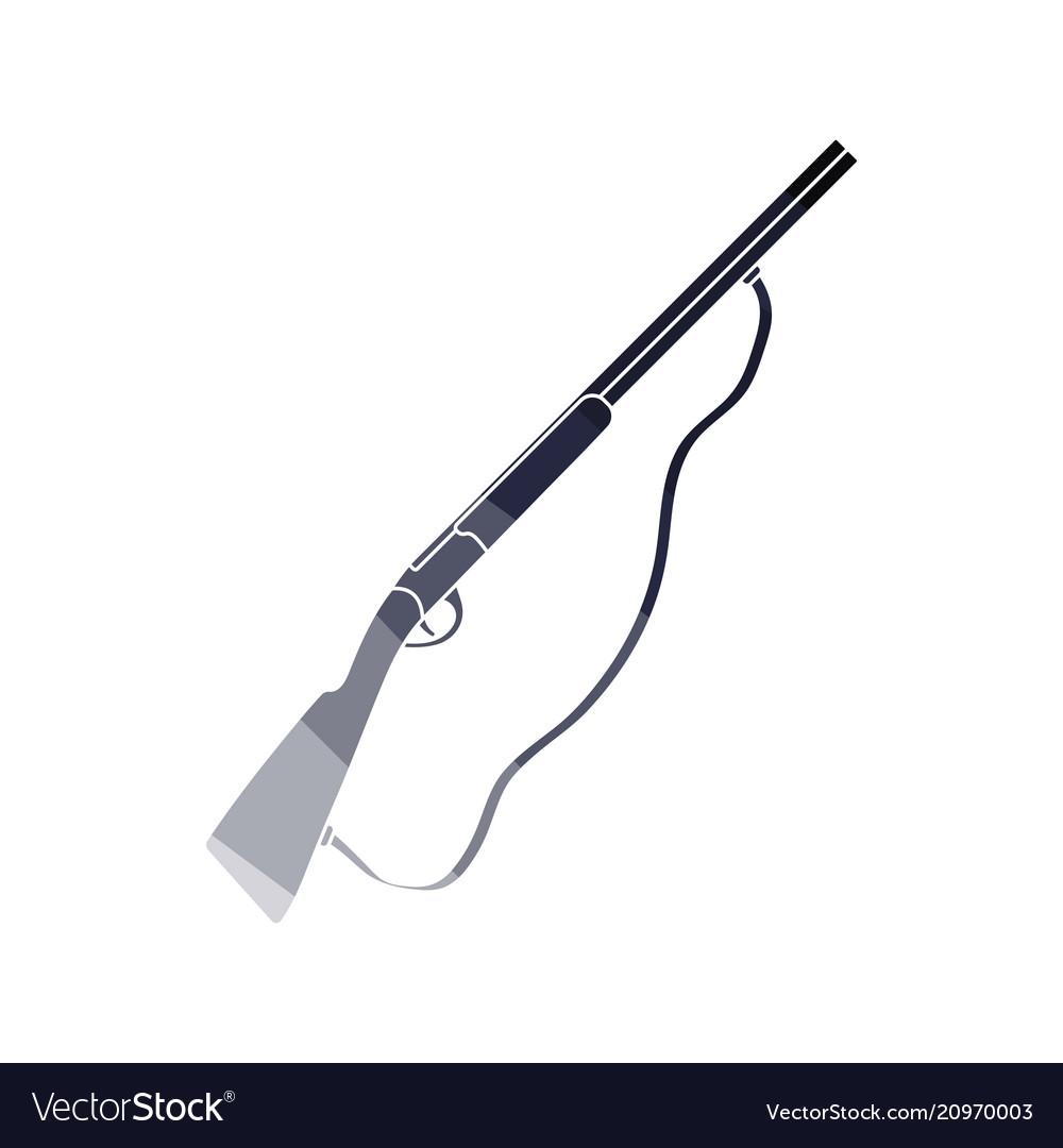 Hunting gun icon