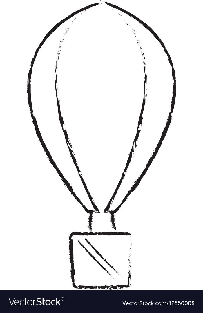 Airballoon recreation vacation travel sketch