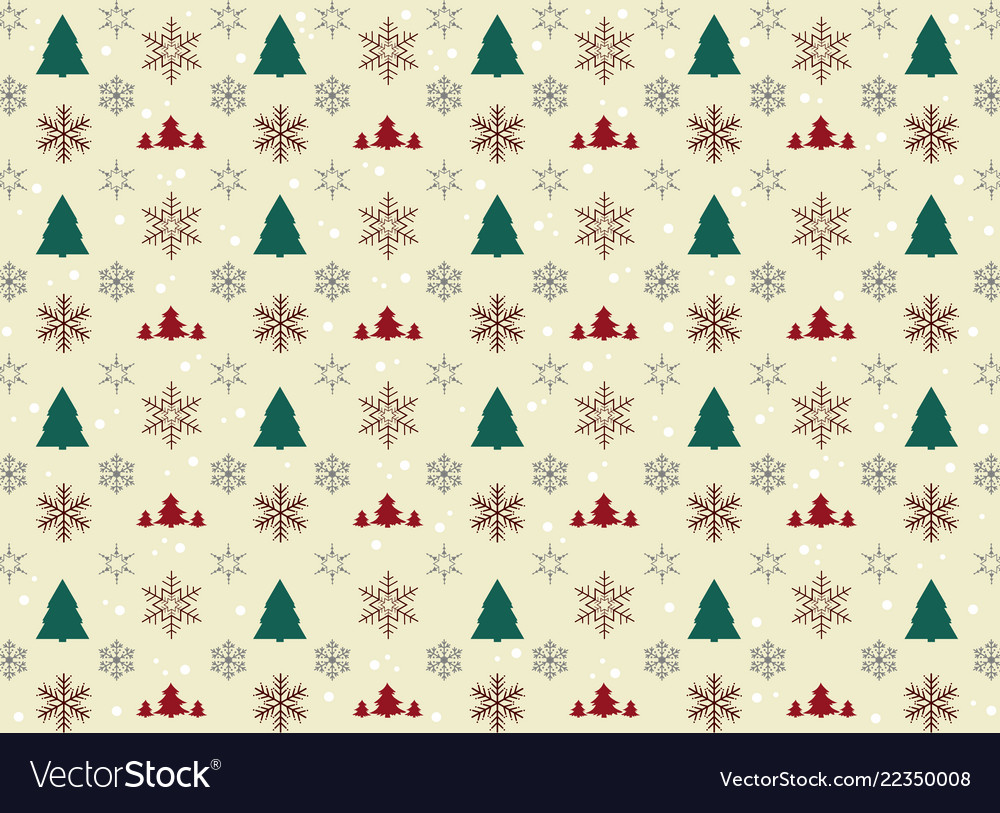 Christmas icon wrapping pattern paper background