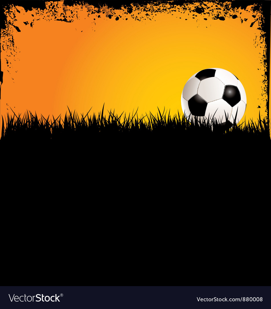 Soccer grunge background