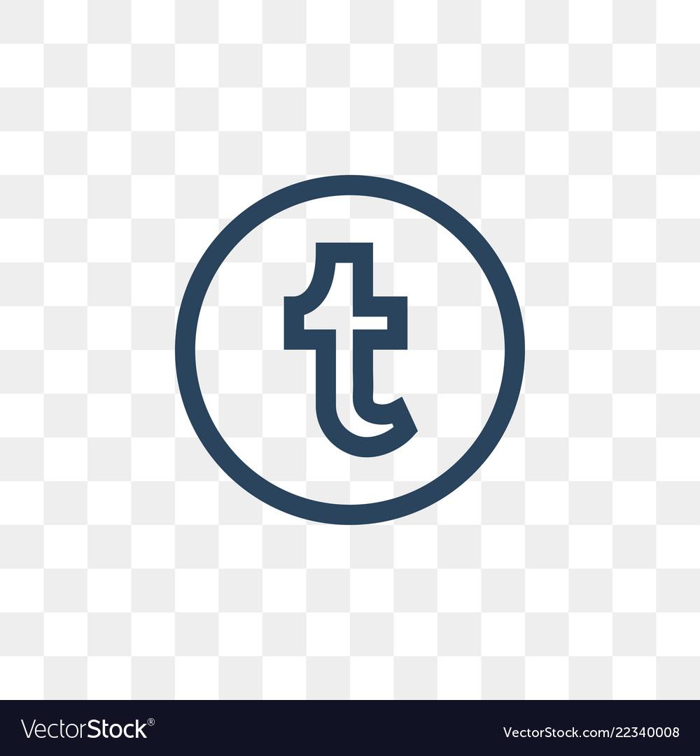 Tumblr social media icon design template