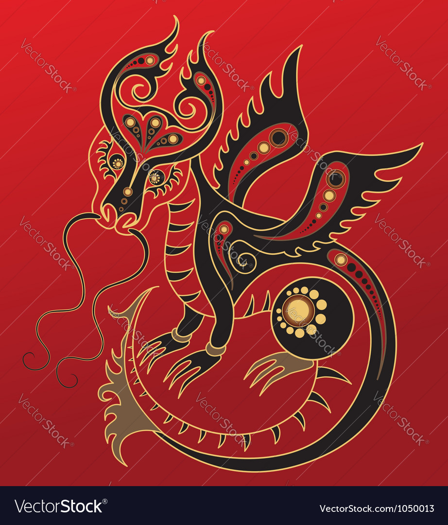Chinese horoscope year dragon