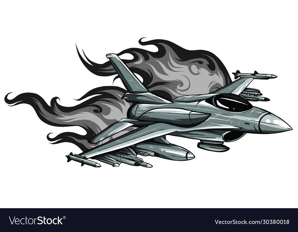 Jet fighter aircraft design