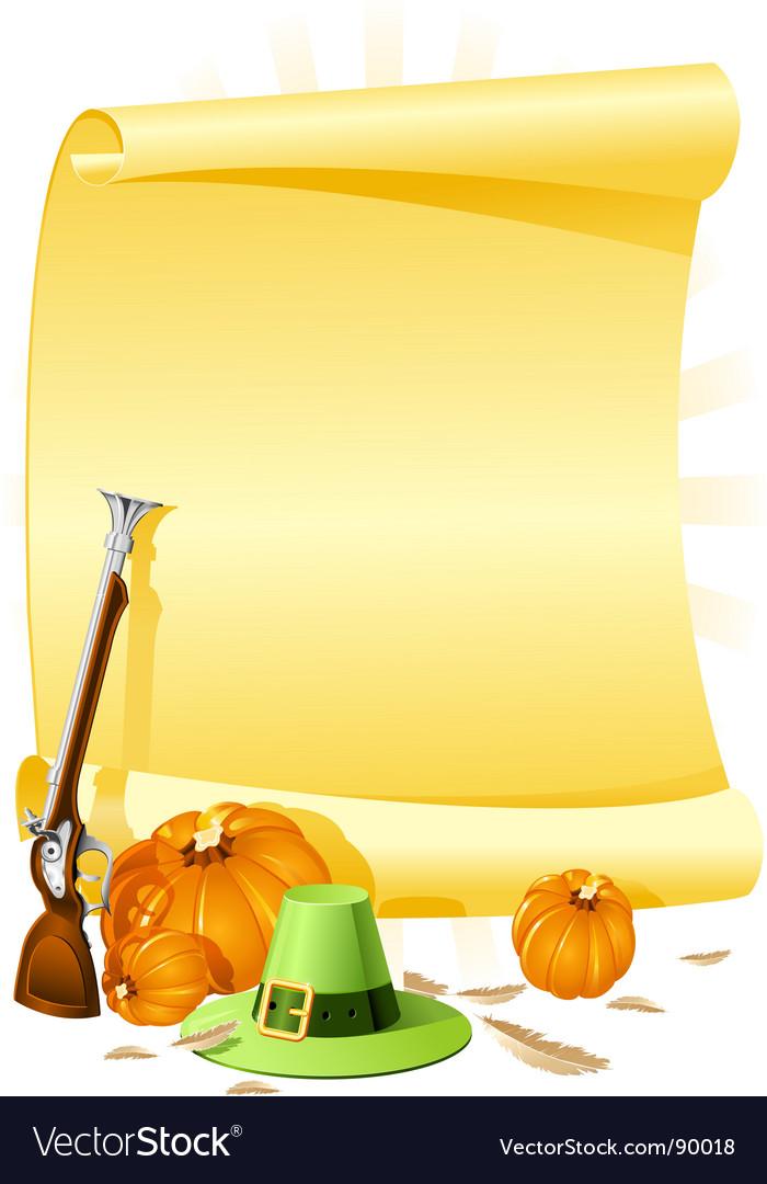 Thanksgiving banquet invitation