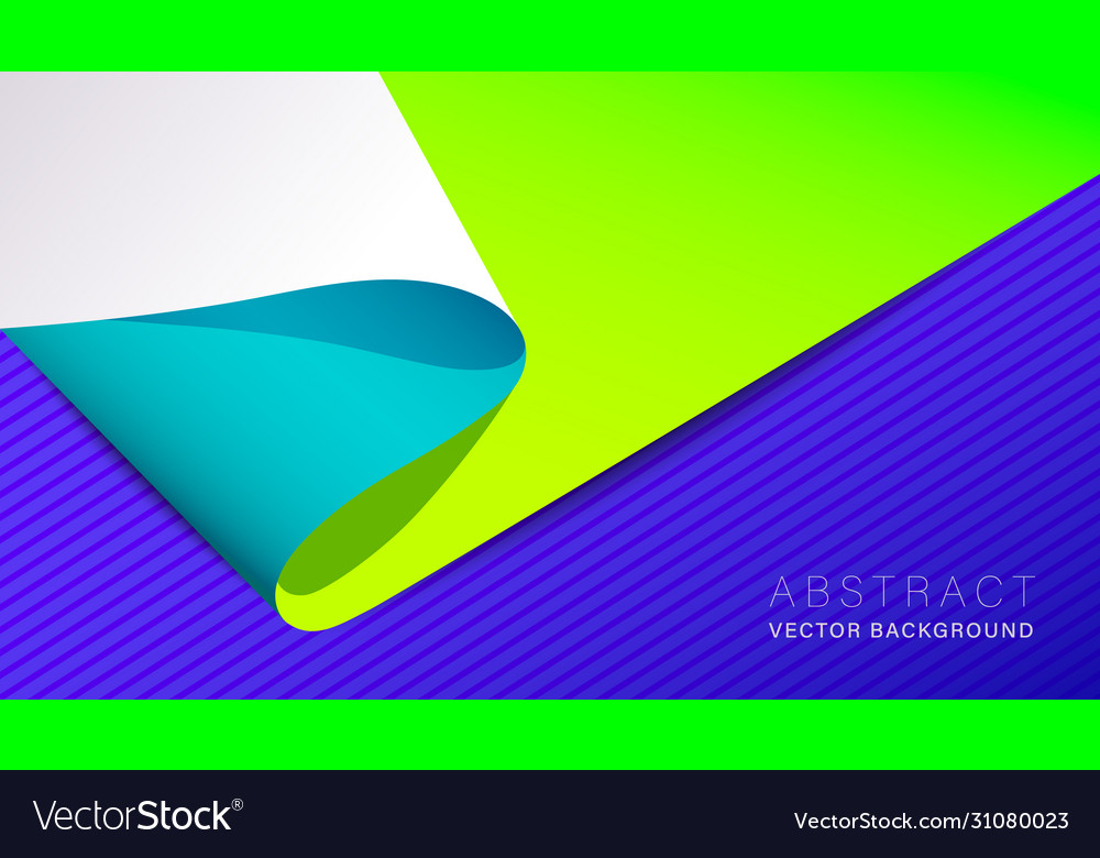 Abstract neon material design background