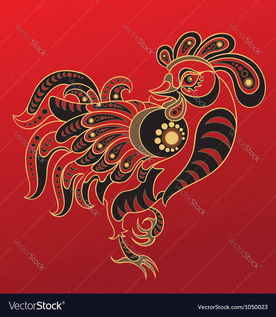 Chinese horoscope year rooster