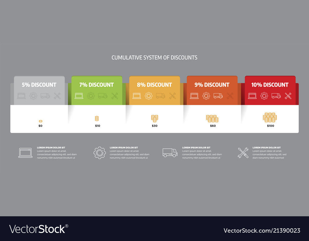 Web Pricing Table Template For Business Plan Vector Image