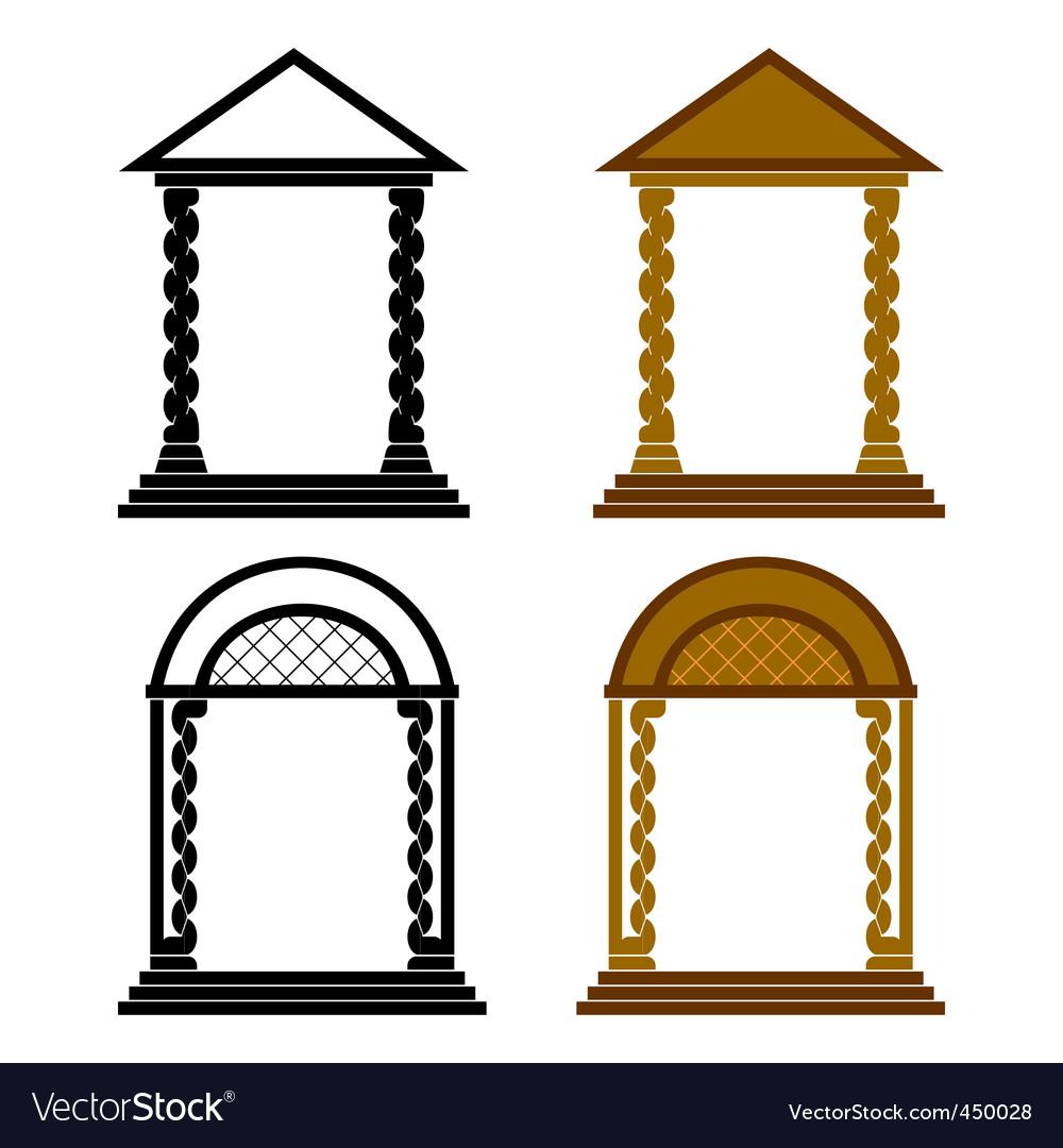 Four arches