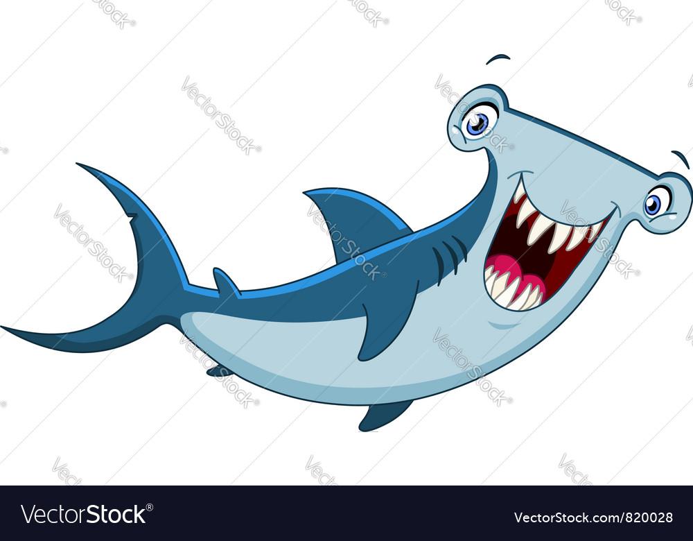 Hammerhead shark Royalty Free Vector Image - VectorStock