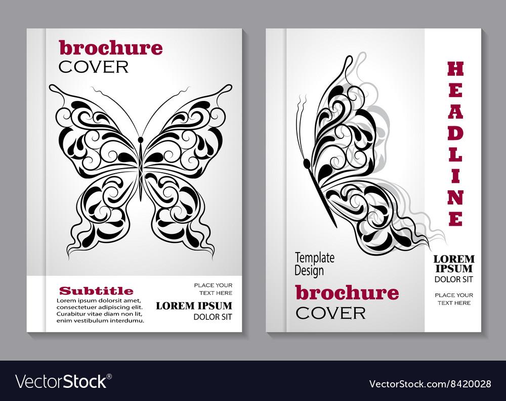Modern templates for brochure