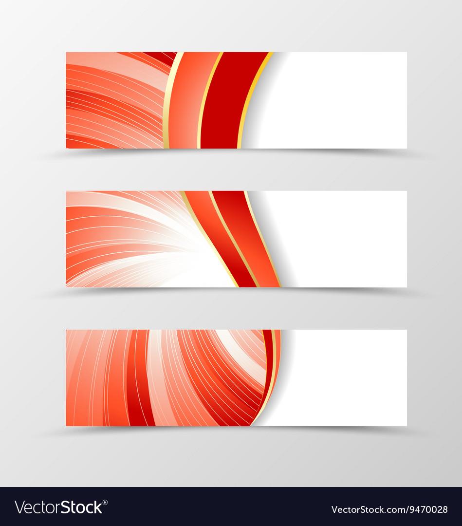 Set banner vortex design