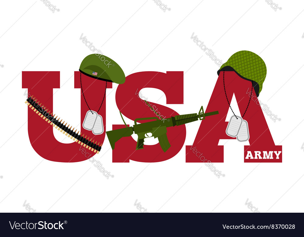 US Army Symbol Of Americas Army logo for US armed