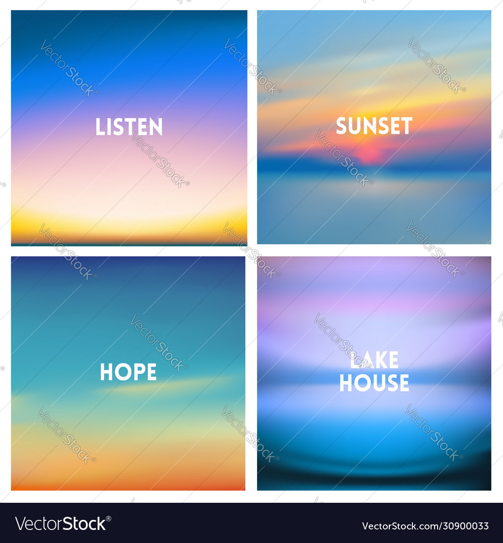 Abstract blurred background beautiful sunrise or