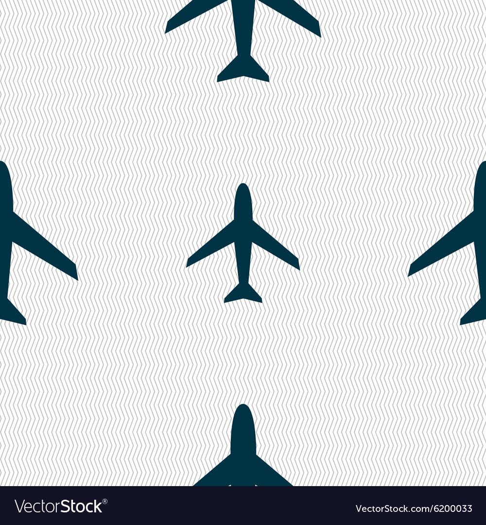 Airplane Sign Plane Symbol Travel Icon Flight Flat