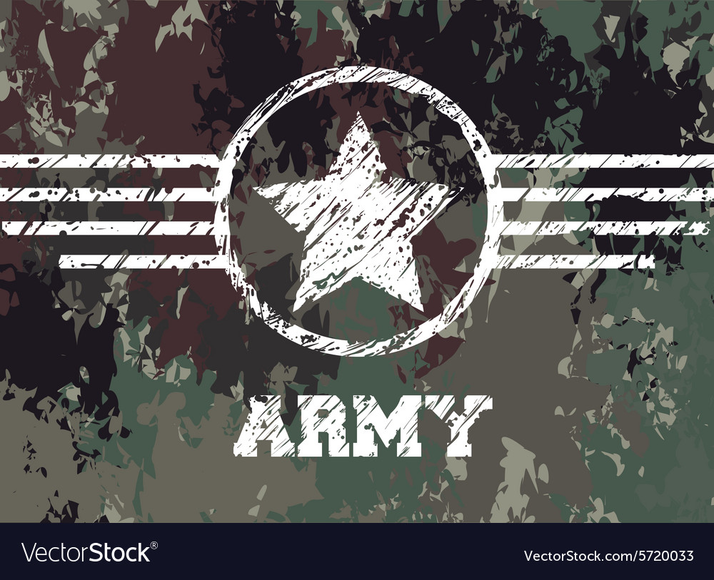 Military camouflage design