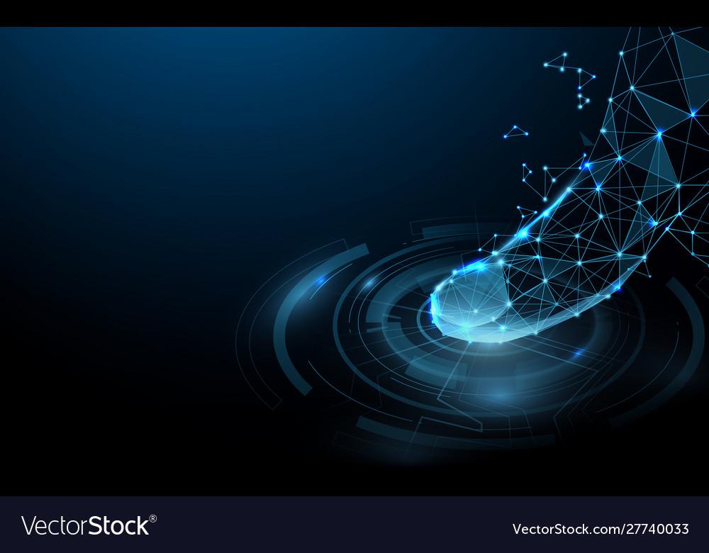 Scanning fingerprint form lines and particle