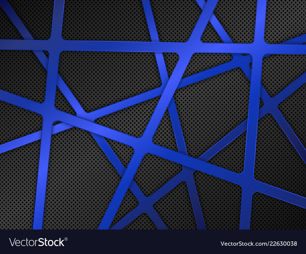Black and blue metal background