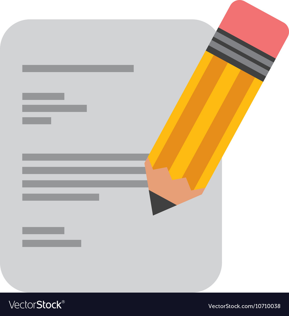 Paper document with pencil icon