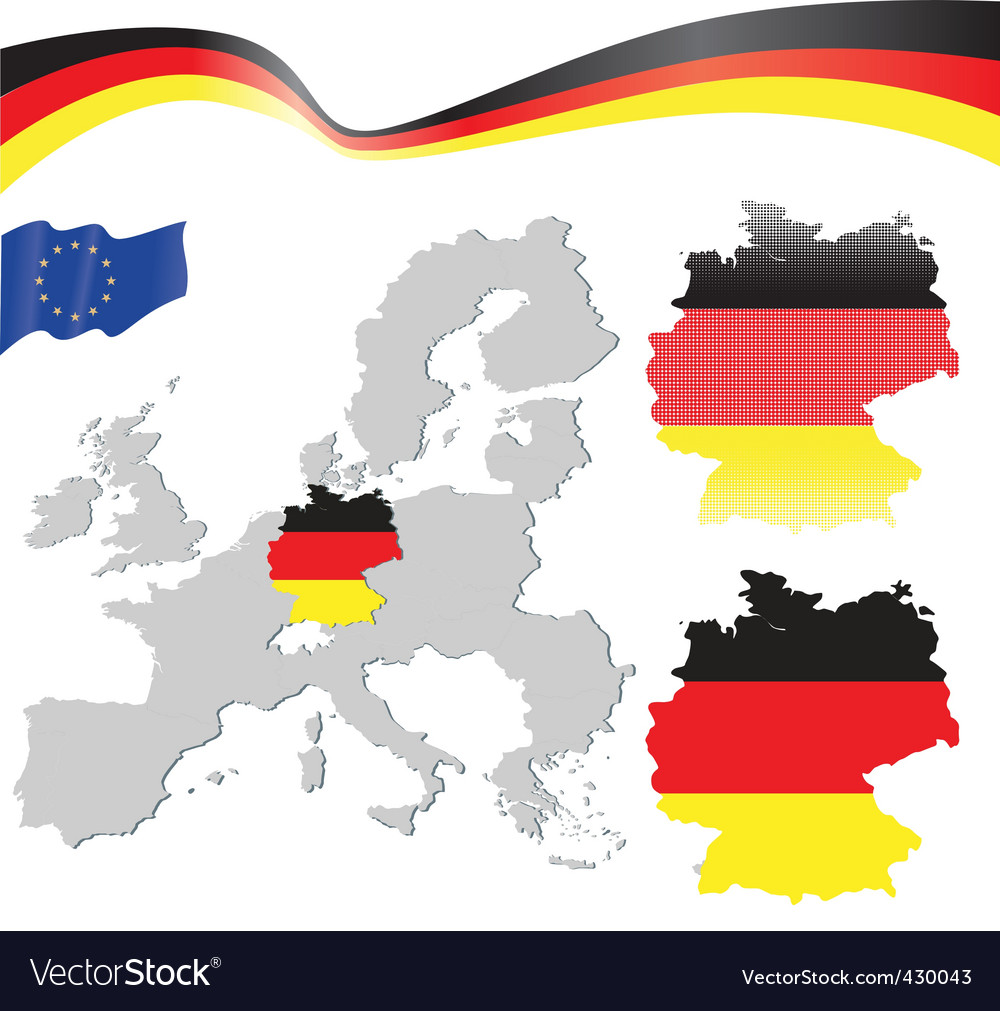 Germany and EU map