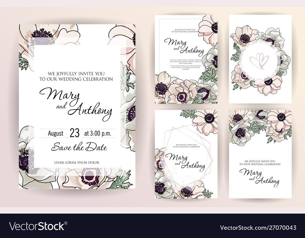 Wedding invitation menu cover information label