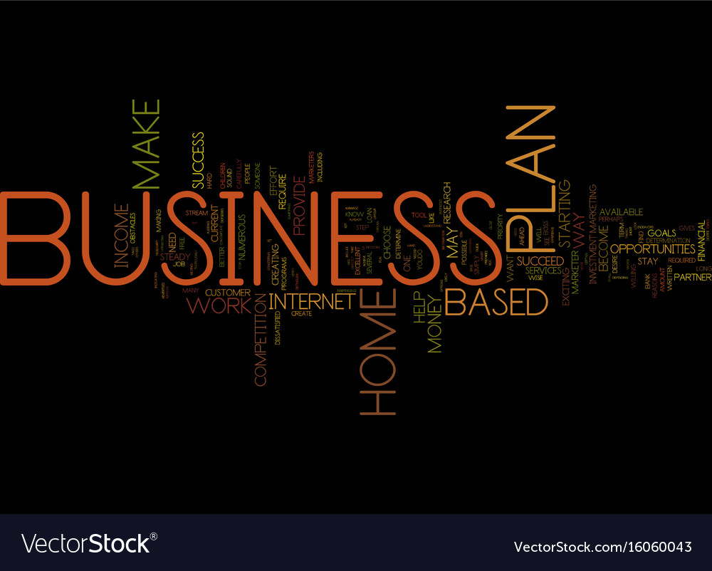 You can make money with a home based business vector image