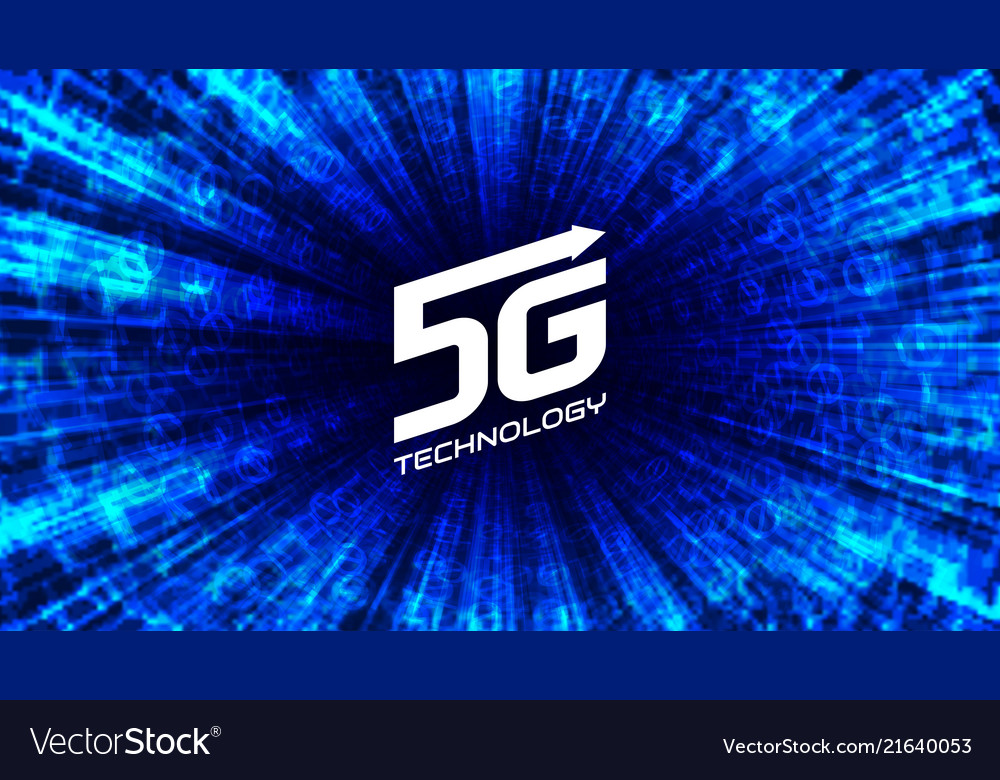 5g wireless internet network connection concept
