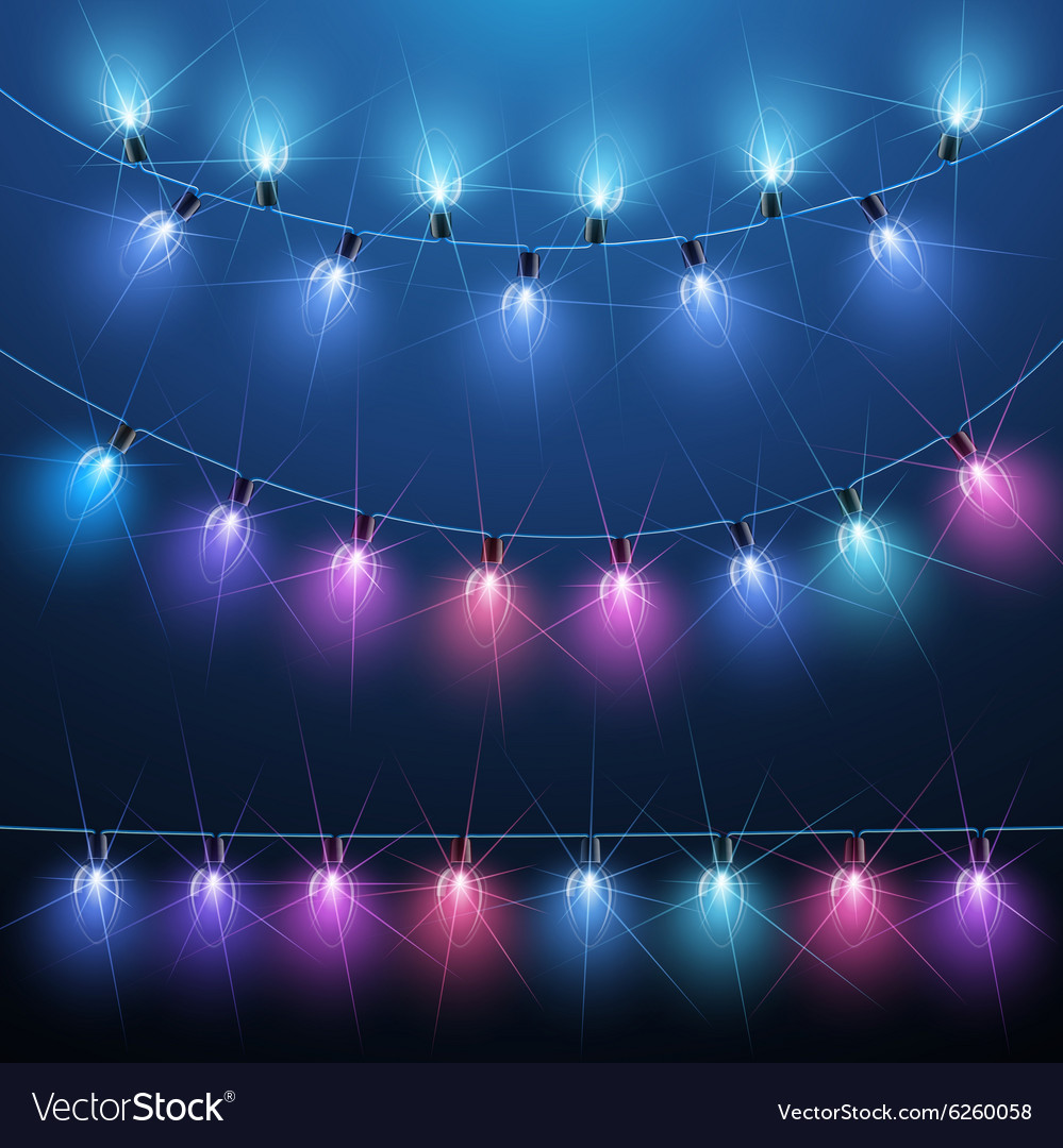 Christmas Light vector image