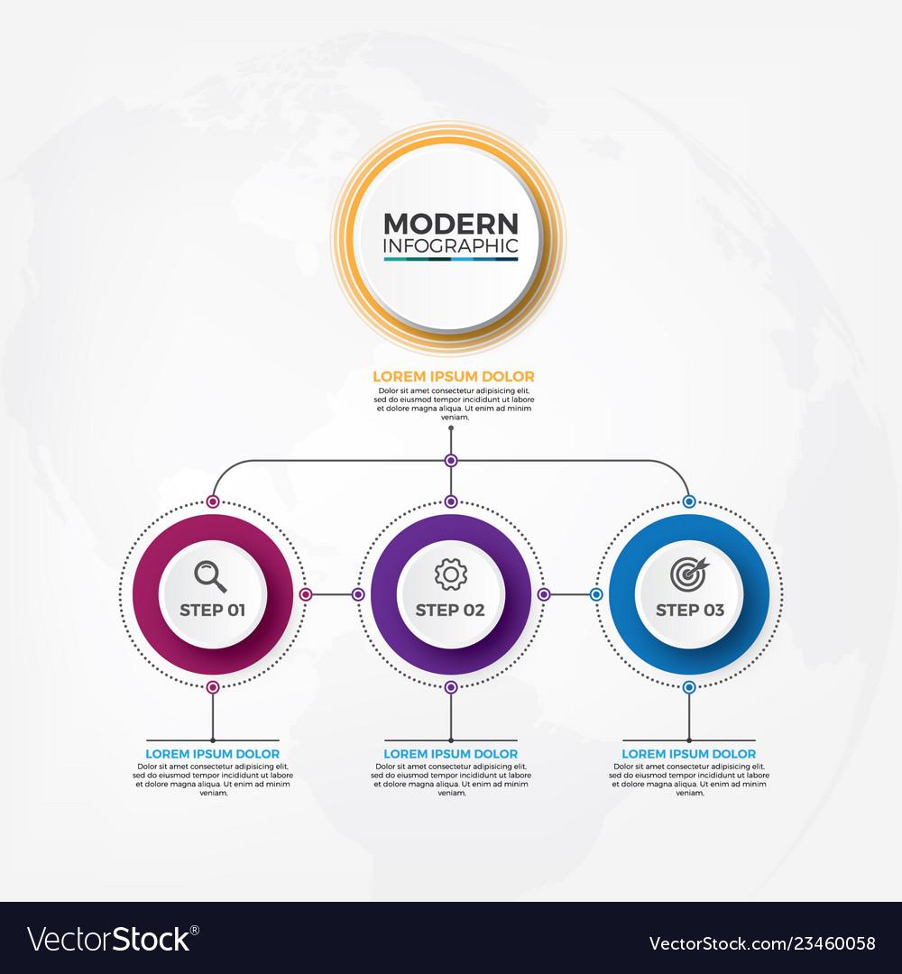 Organization structure infographic