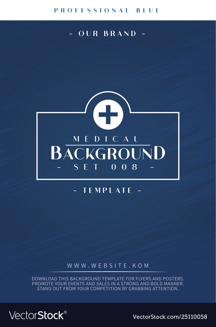 Professional Background Template For Clinic And