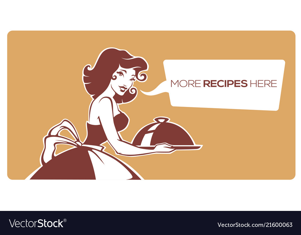Home made food icon symbol logo for your