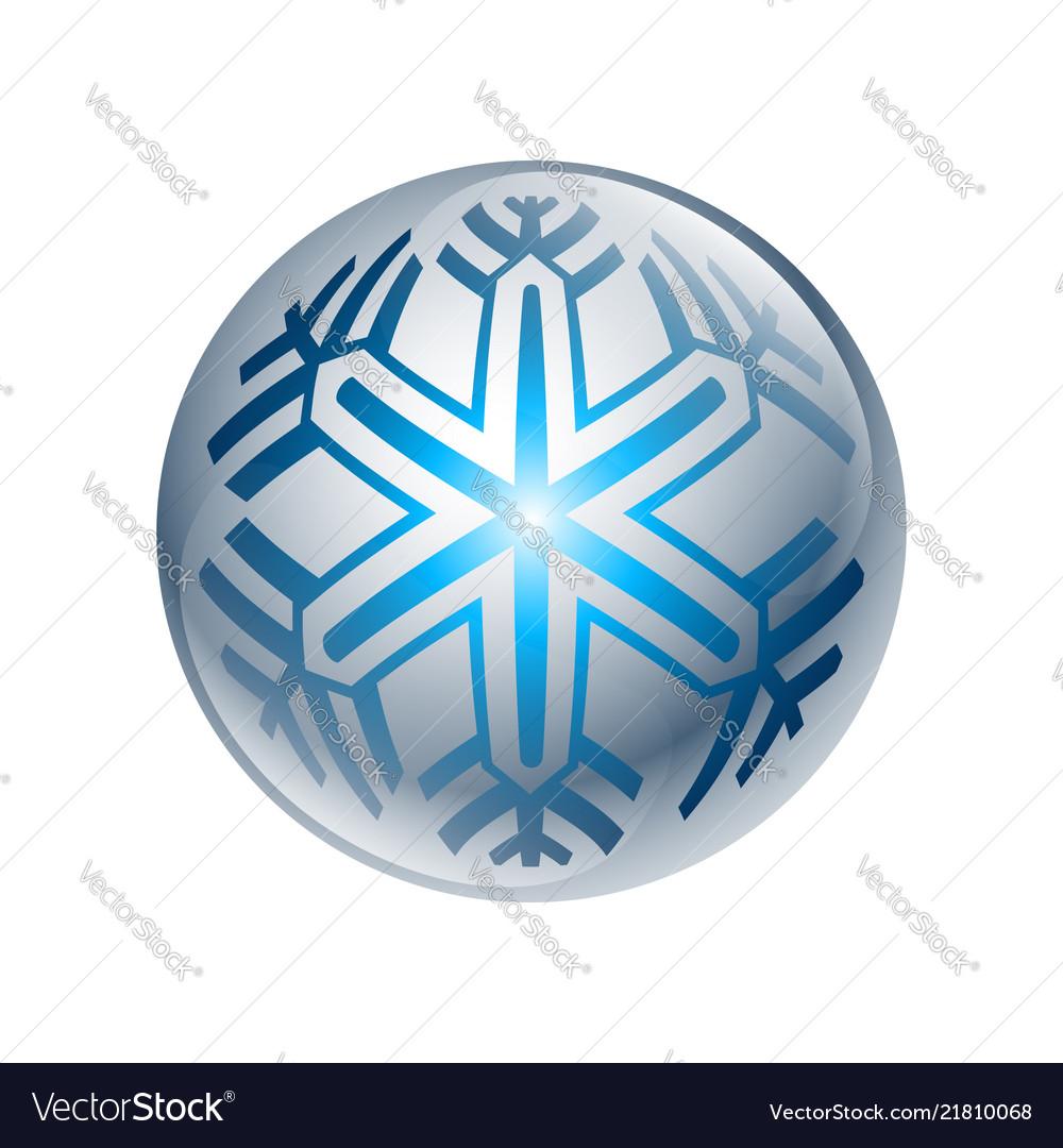 3ddigital blue isolated circle logo template