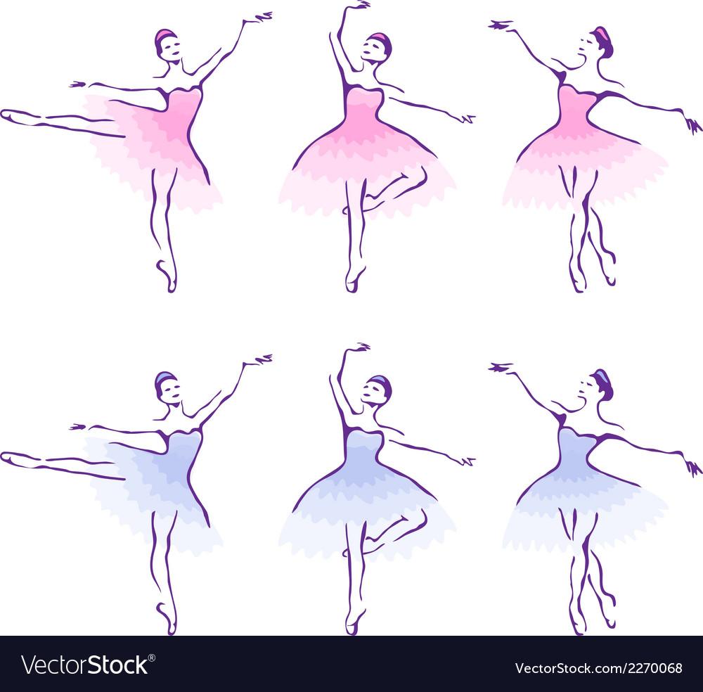 Ballet woman-dancers