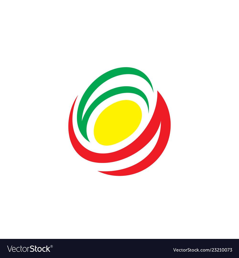 Abstract arrow line business logo