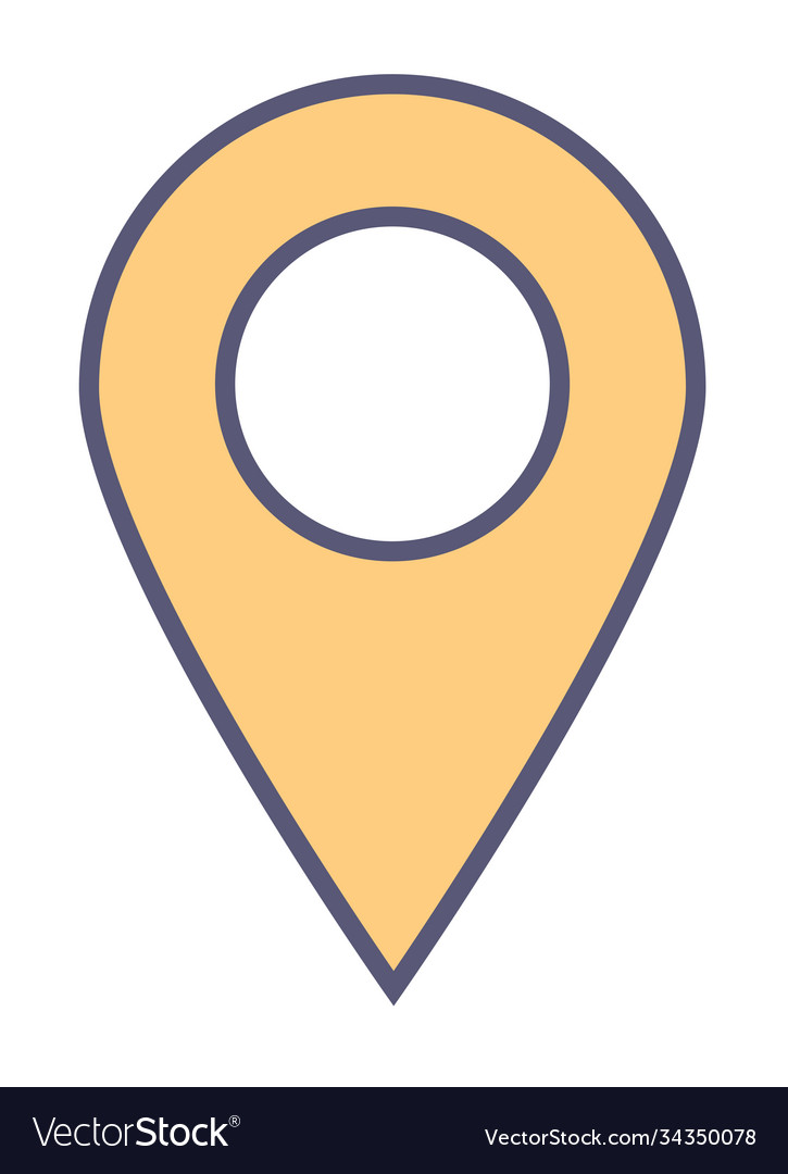 Location pointer or geotag navigation and gps