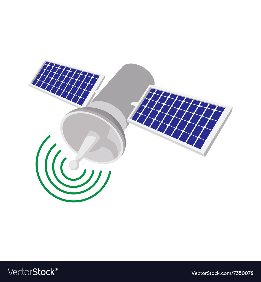 Satellite Communications Chapter 9 Electrical Systems Engineering360 Cartoon Icon Royalty Free Vector