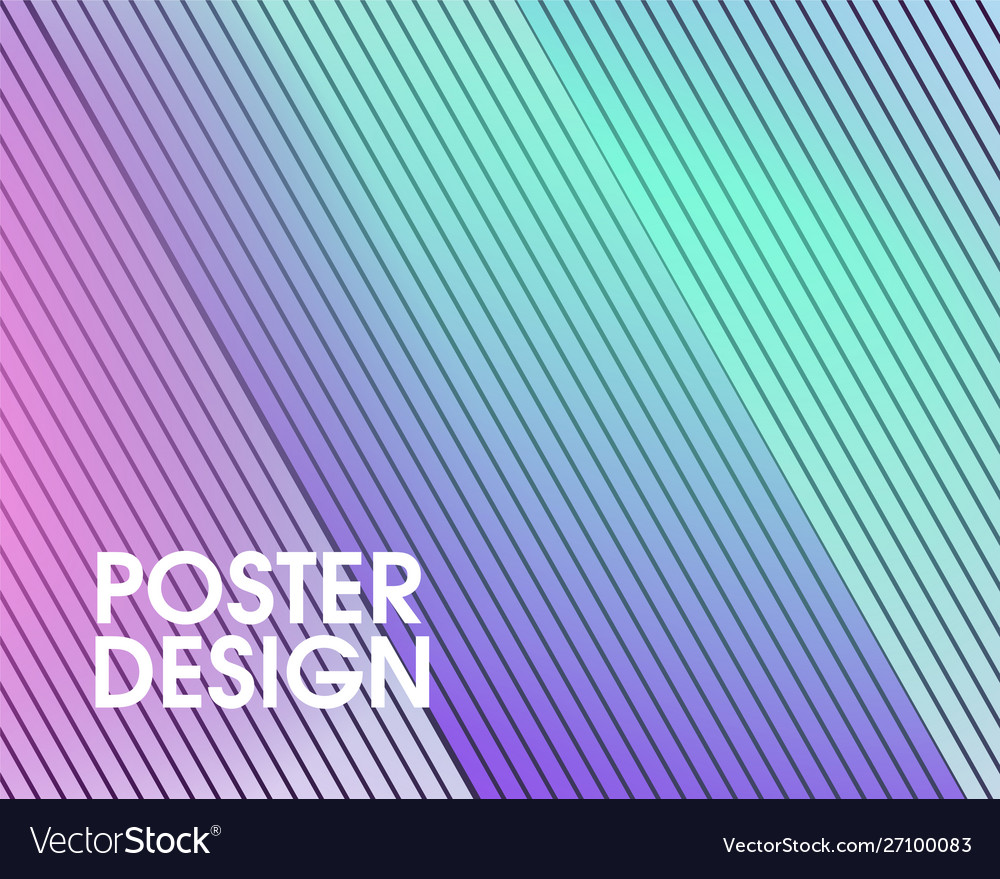 Abstract modern geometrical background