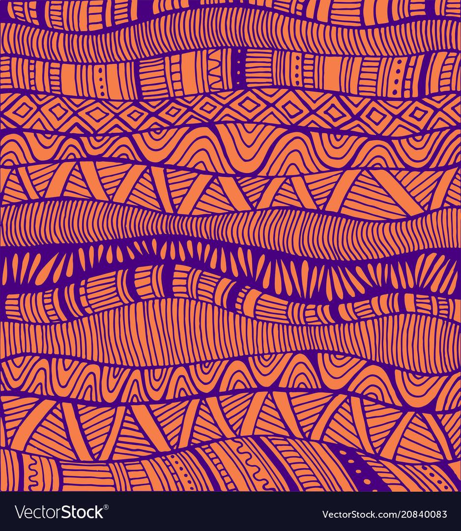 Abstract pattern ethno style stylish background