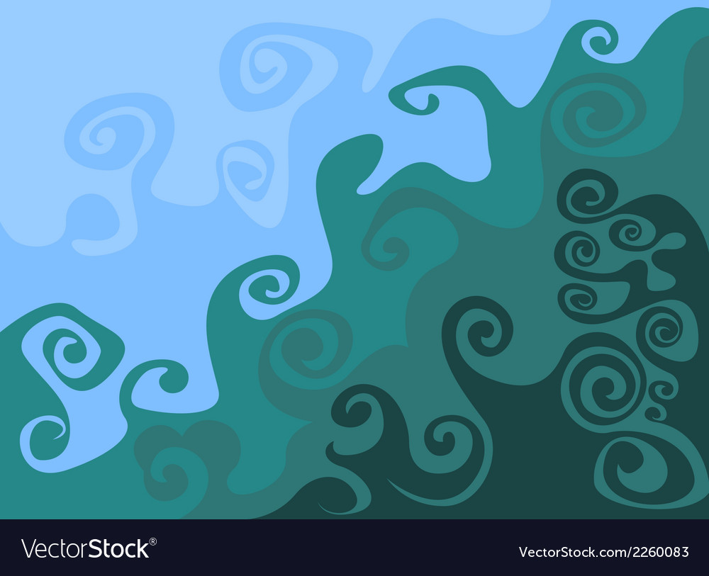 Wave pattern abstract background