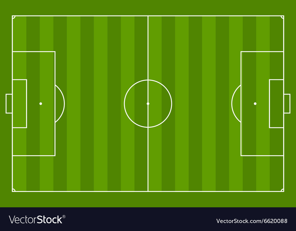 green grass soccer field. Green Soccer Field Background Vector Image Green Grass