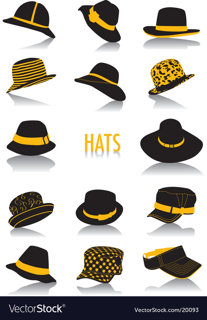 Hats silhouettes