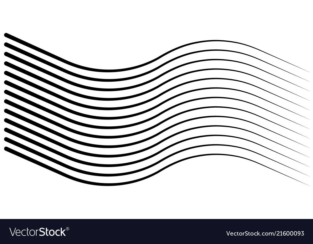 Line Art Of Sun : Speed lines isolated set sun royalty free vector image