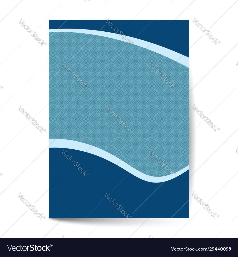 Luxury premium menu designfinancial annual report vector