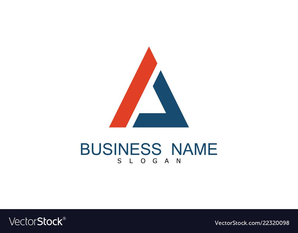 Triangle business logo