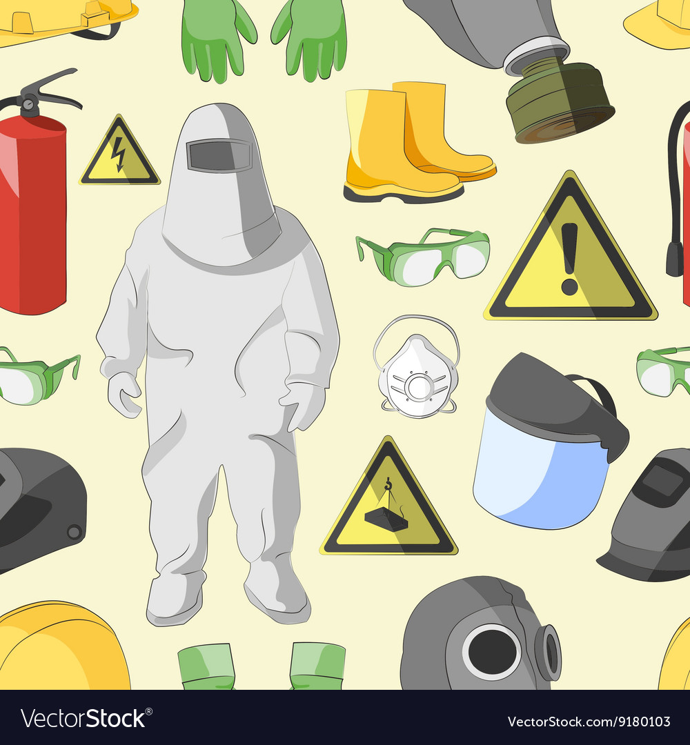 Protective clothing and equipment pattern