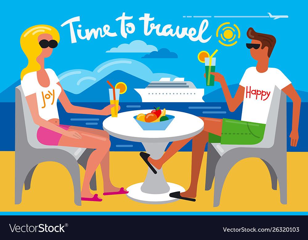 Summer travel resort