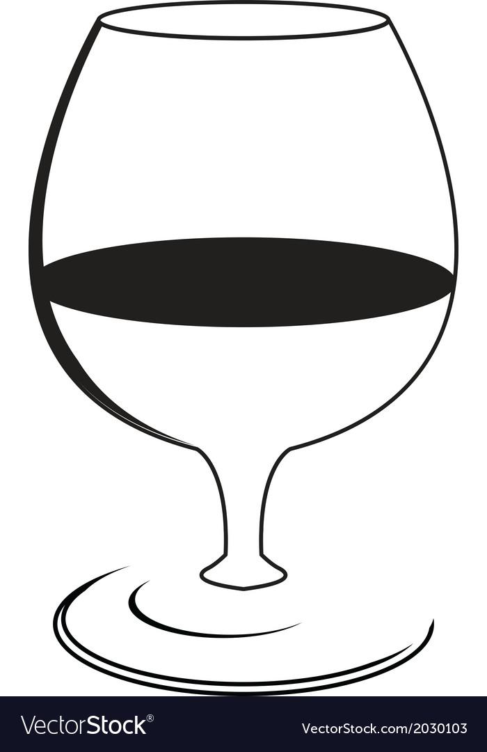 Wine9 vector image