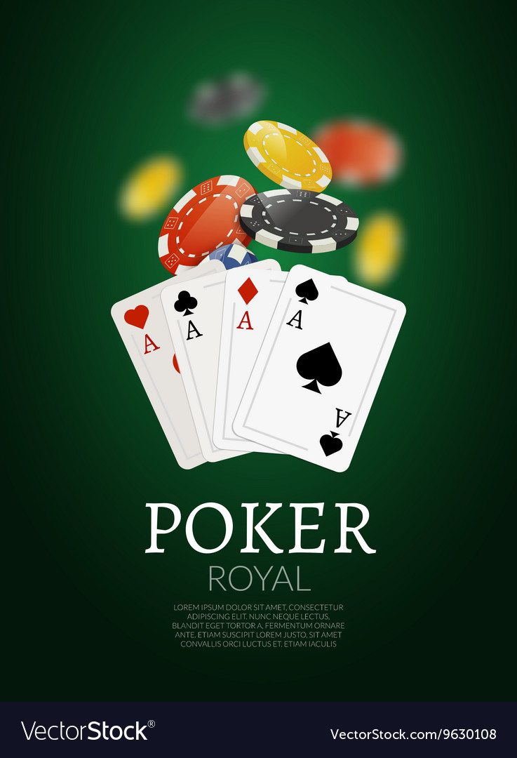 Poker chips and cards bacgkground Poker Casino