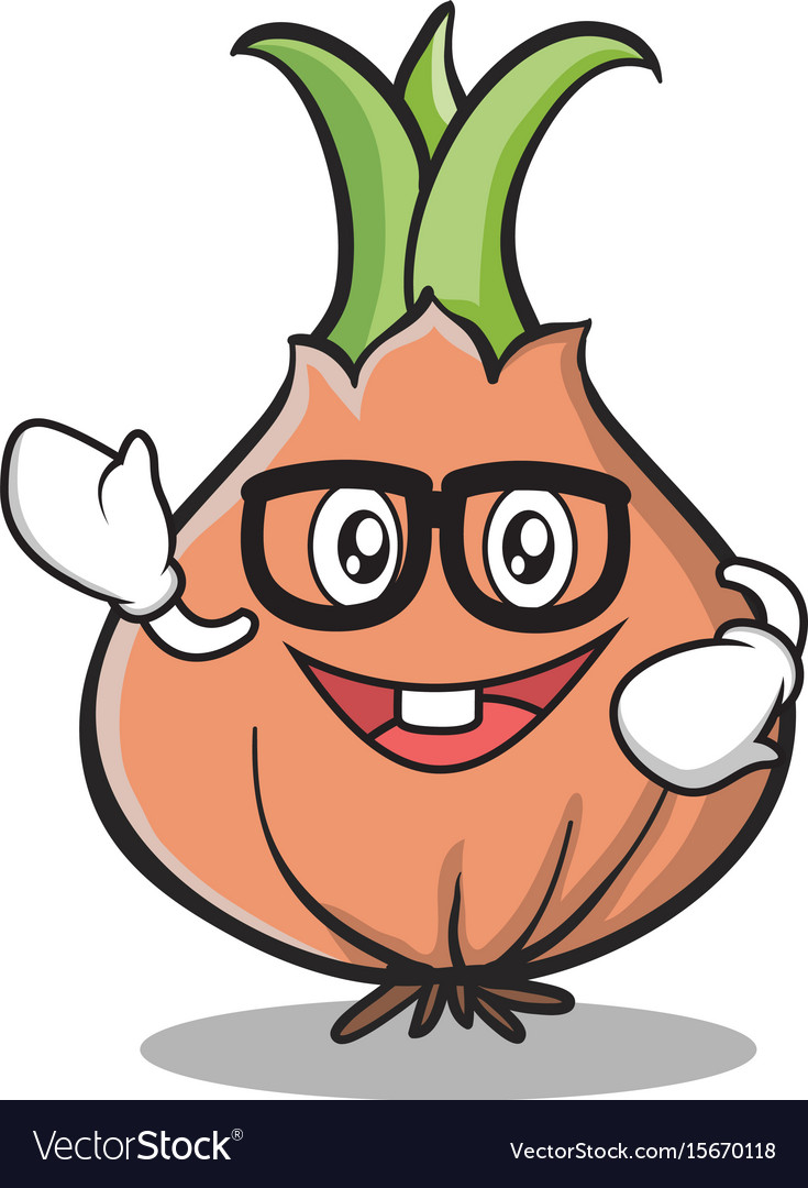 geek face onion character cartoon royalty free vector image rh vectorstock com vector cartoonizer vector cartoon arms