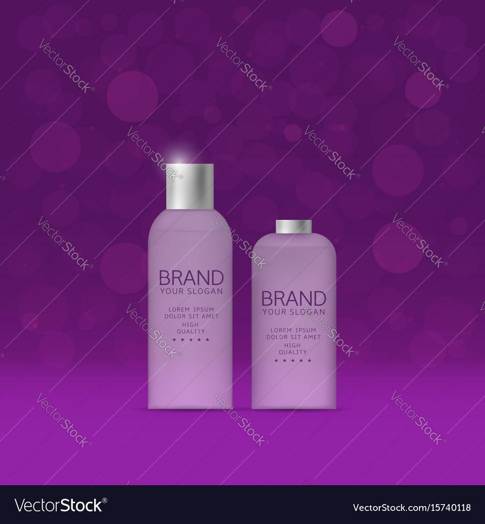 Shampoo and spray bottles